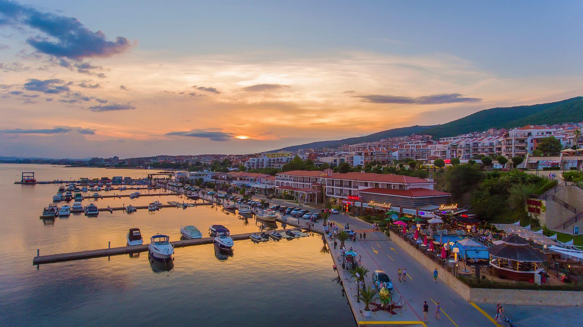Yacht Port Marina Dinve Bulgaria