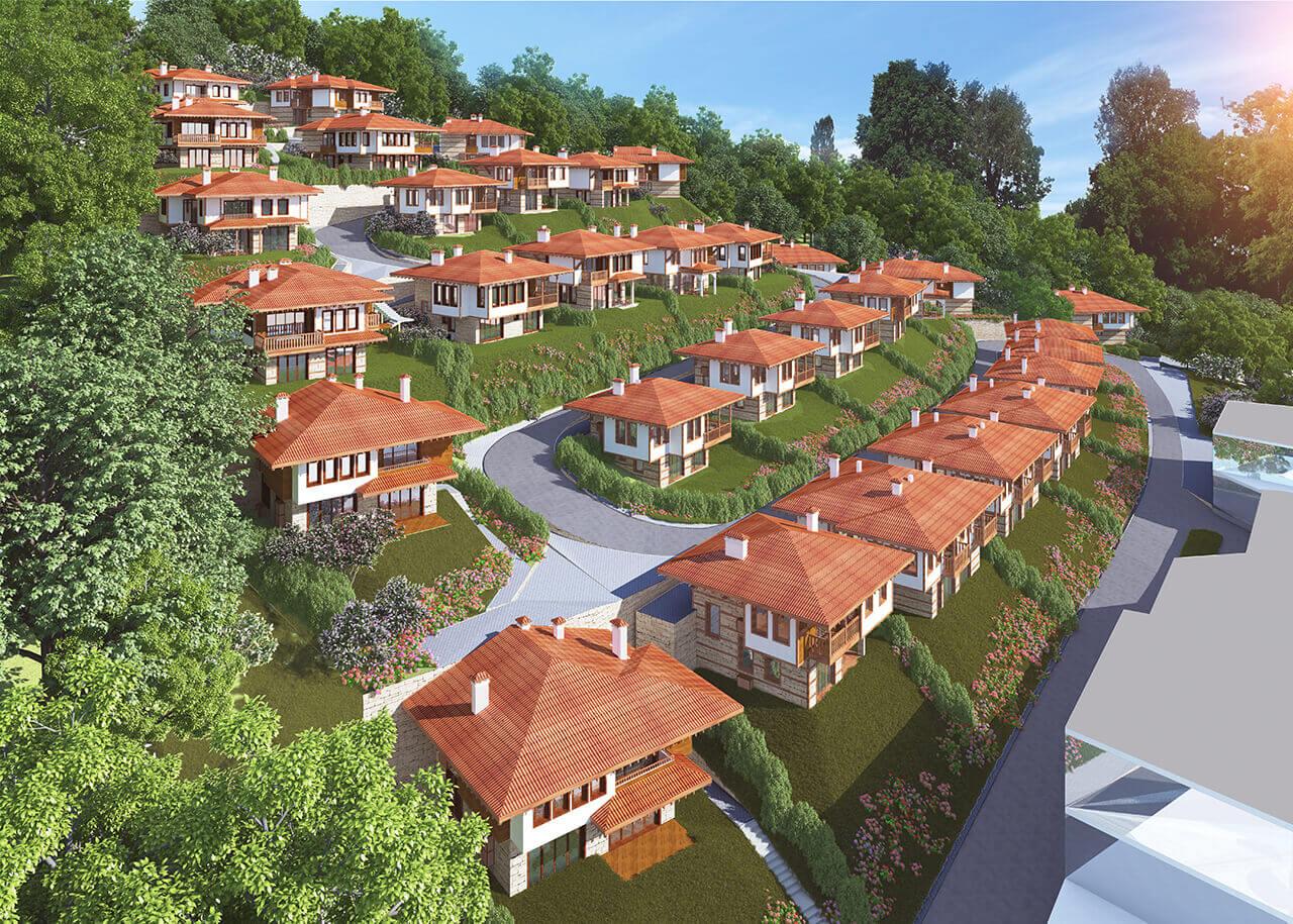 Venid Eco Village Panorama